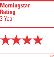 4 Star Morningstar Rating_3yr